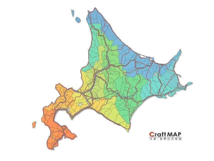 北海道のイメージ図