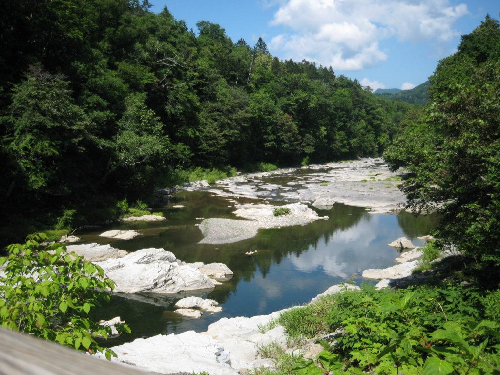 三段滝下流