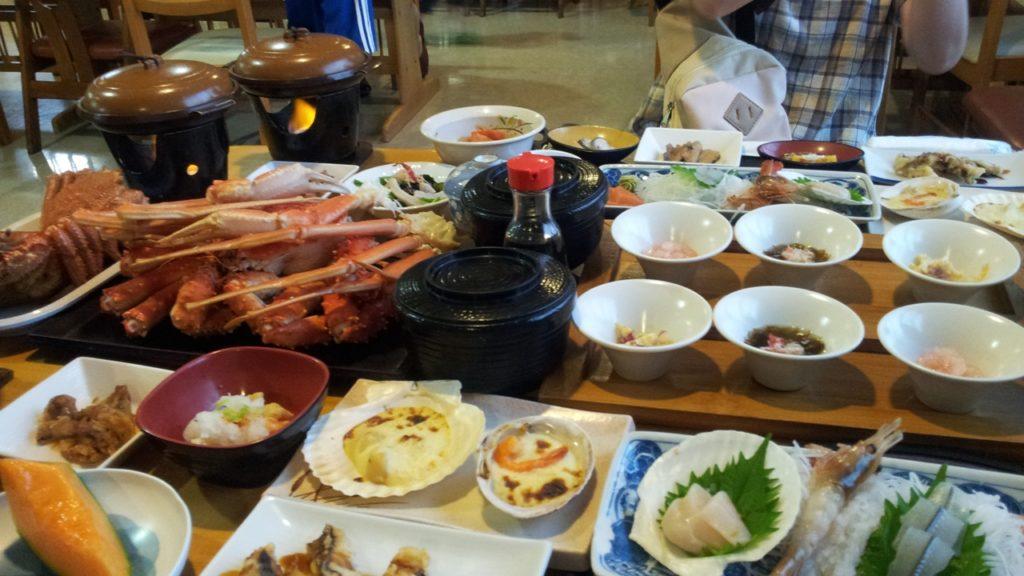 船長の家の夕食