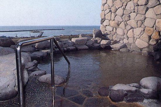 道の駅とままえの露天風呂