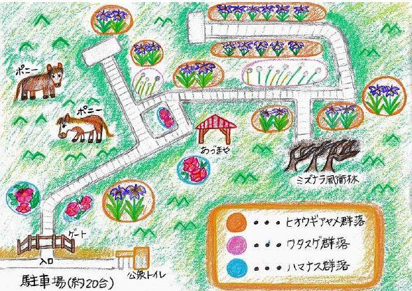 北方原生花園マップ