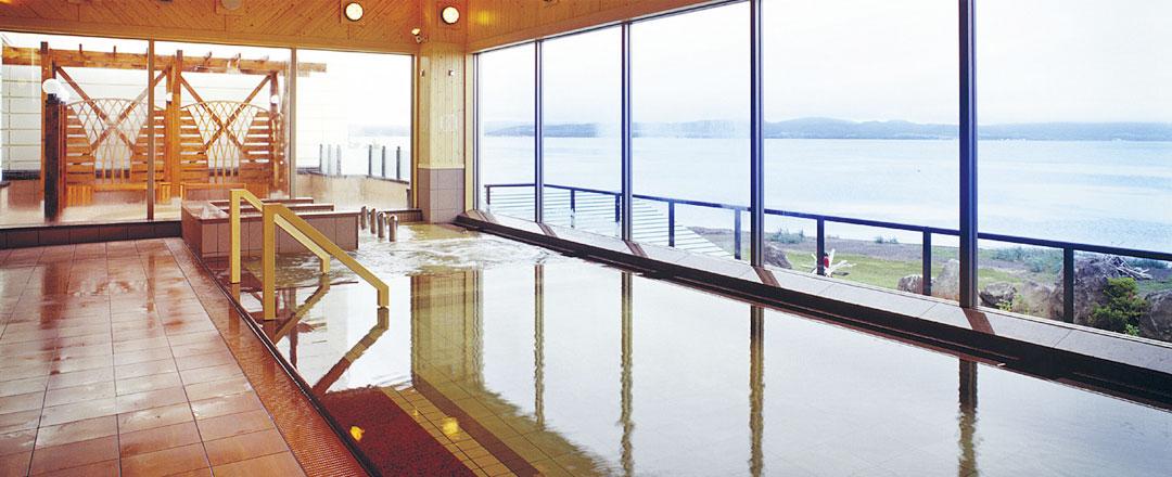 サロマ湖鶴雅リゾート浴場2F