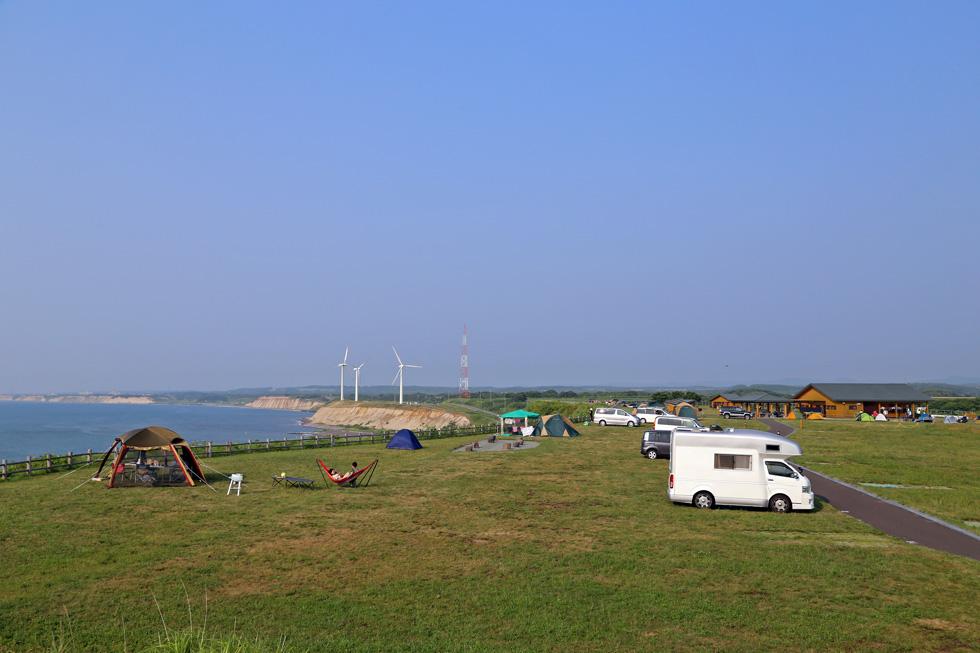 とままえ夕陽ヶ丘オートキャンプ場