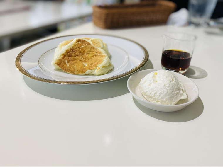 六花亭リコッタパンケーキ