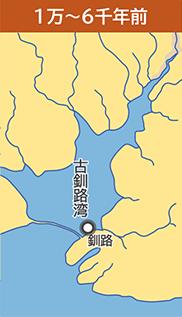 釧路湿原1万年前